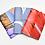 Thumbnail: Boekbinden 2: Pocketbook met wikkel en elastiek 13/11