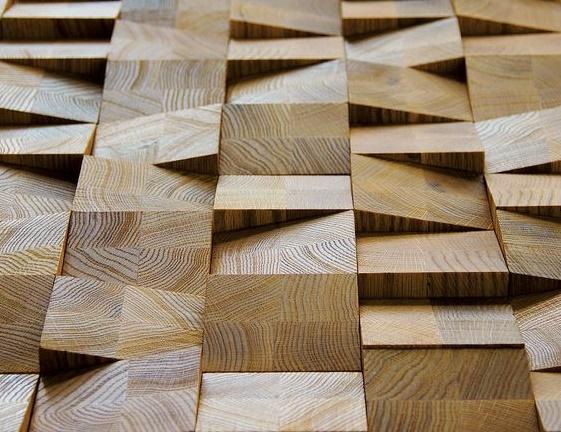 חיפוי קיר עץ אורן גושני בחיתוך צורני