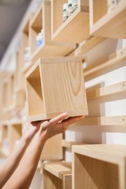סרגלי עץ אורן מודולרי לחדרי ילדים