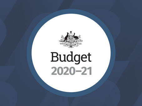 2020/21 Federal Budget