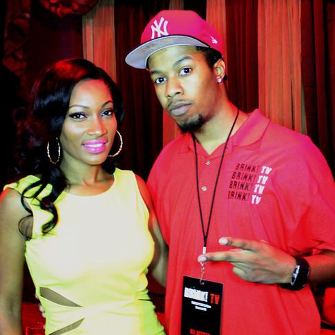 Erica Dixon (Love & HipHop ATL) Meets BrinkTV