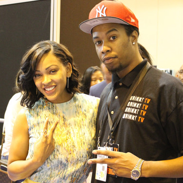 Meagan Good Meets BrinkTV