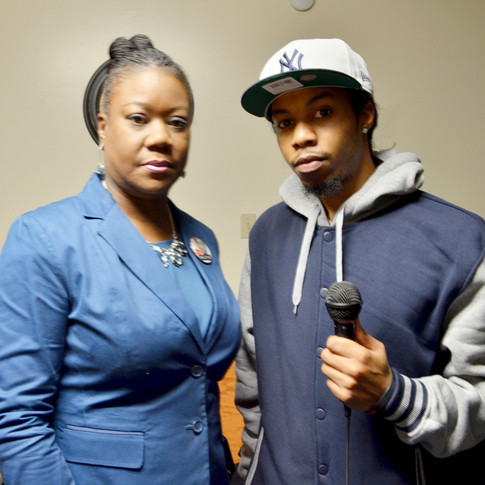 Sybrina Fulton (Treyvon Martin's Mom) Meets BrinkTV
