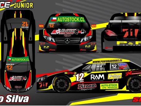 Marco Silva, piloto oficial de Chile en la famosa categoría Top Race Junior 2021