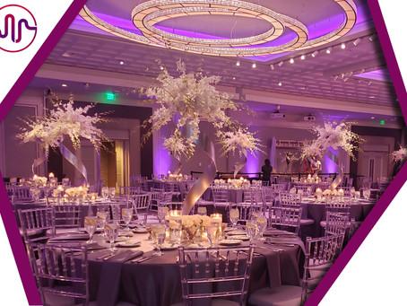 Uplighting: The Foundation of Wedding Lighting