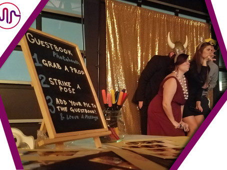 The Photo Booth: An Interactive Guest Book!
