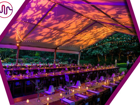 The Canopy Tent: Your Backyard Venue!