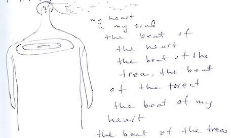 drawing tree heartbeat