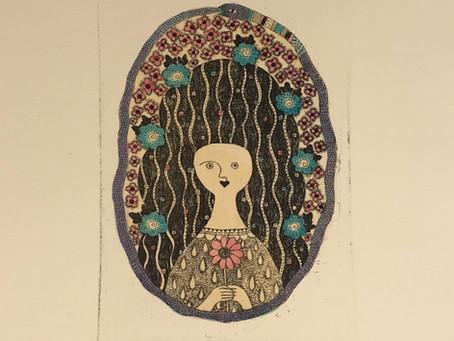 たかせちなつ作品展 ー銅版画と絵とこものたちー