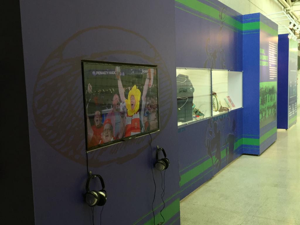 Exposição Rugby - Esporte e Superação -S