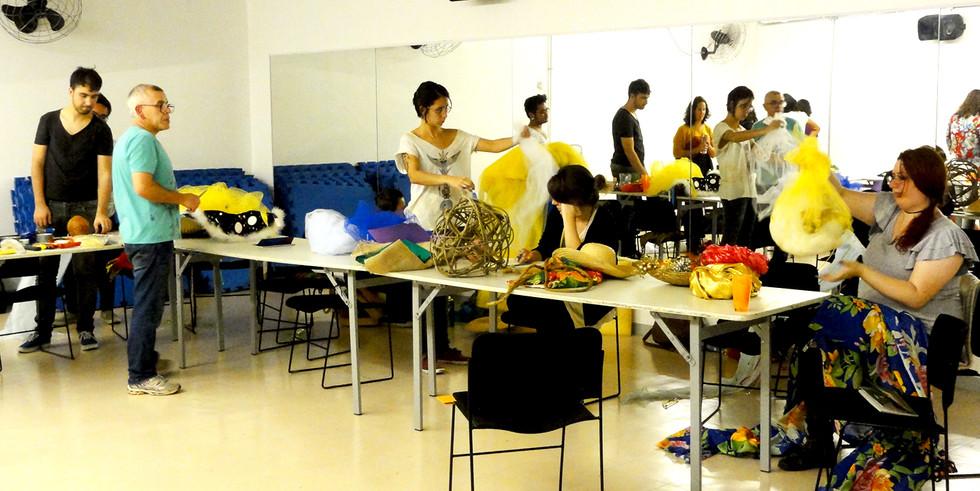 Workshop Figurinos e Adereços | SESC Consolação | 2013