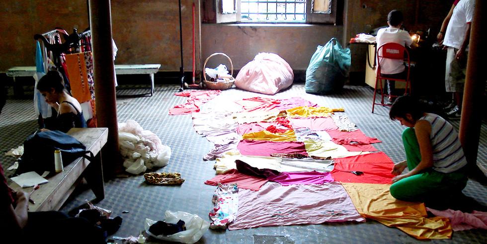 Workshop Arqueologia da Roupa | Vila Maria Zélia | São Paulo | 2010