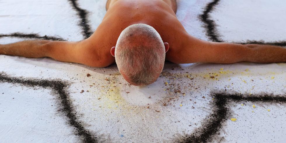 Burning Man | Performer: Bukuritós Aruanda | Fotografia: Andrea Lavezzaro | Cotia, 2015.