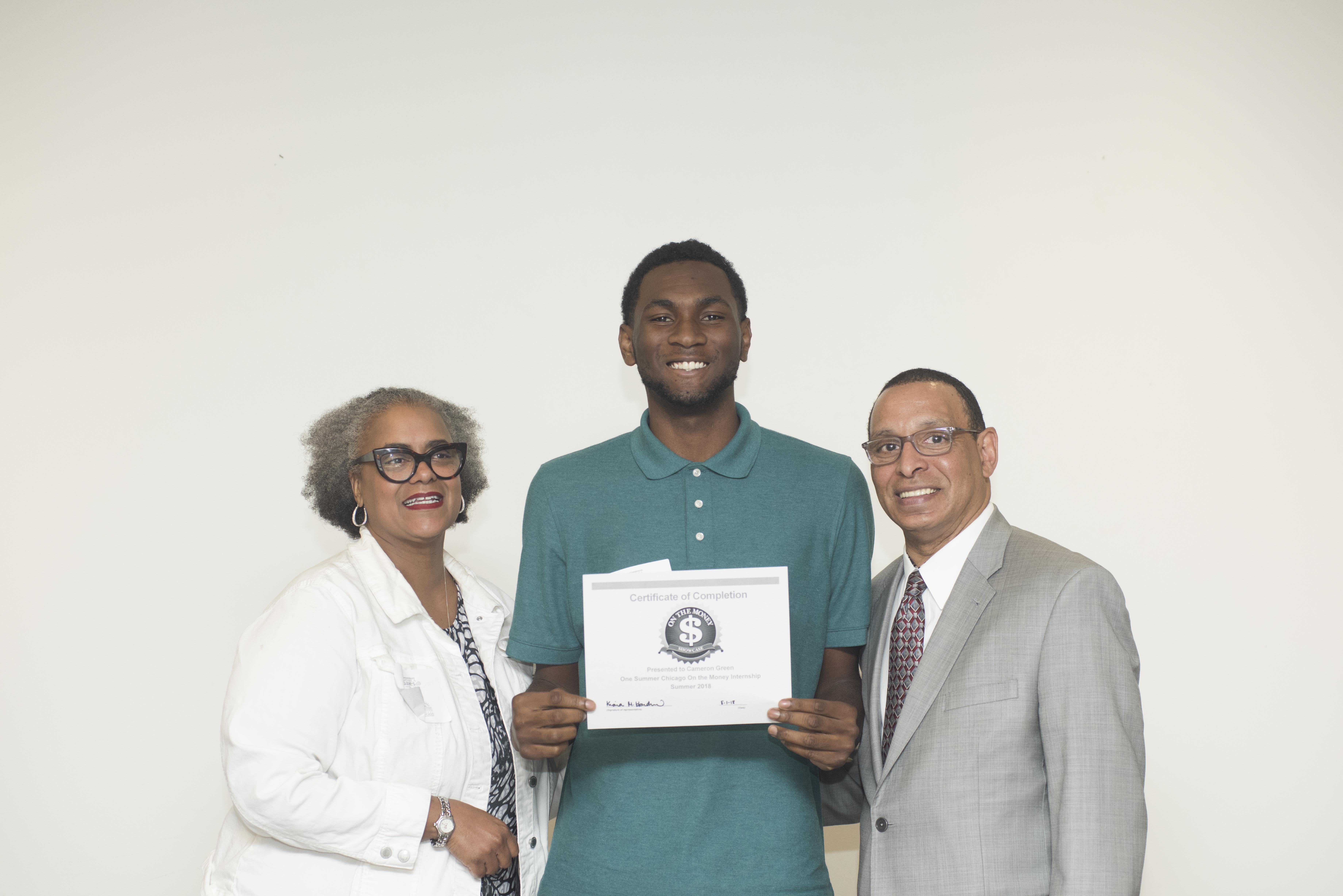 Certificate cameron
