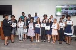 Graduation group picture