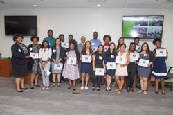 Interns graduation group pic