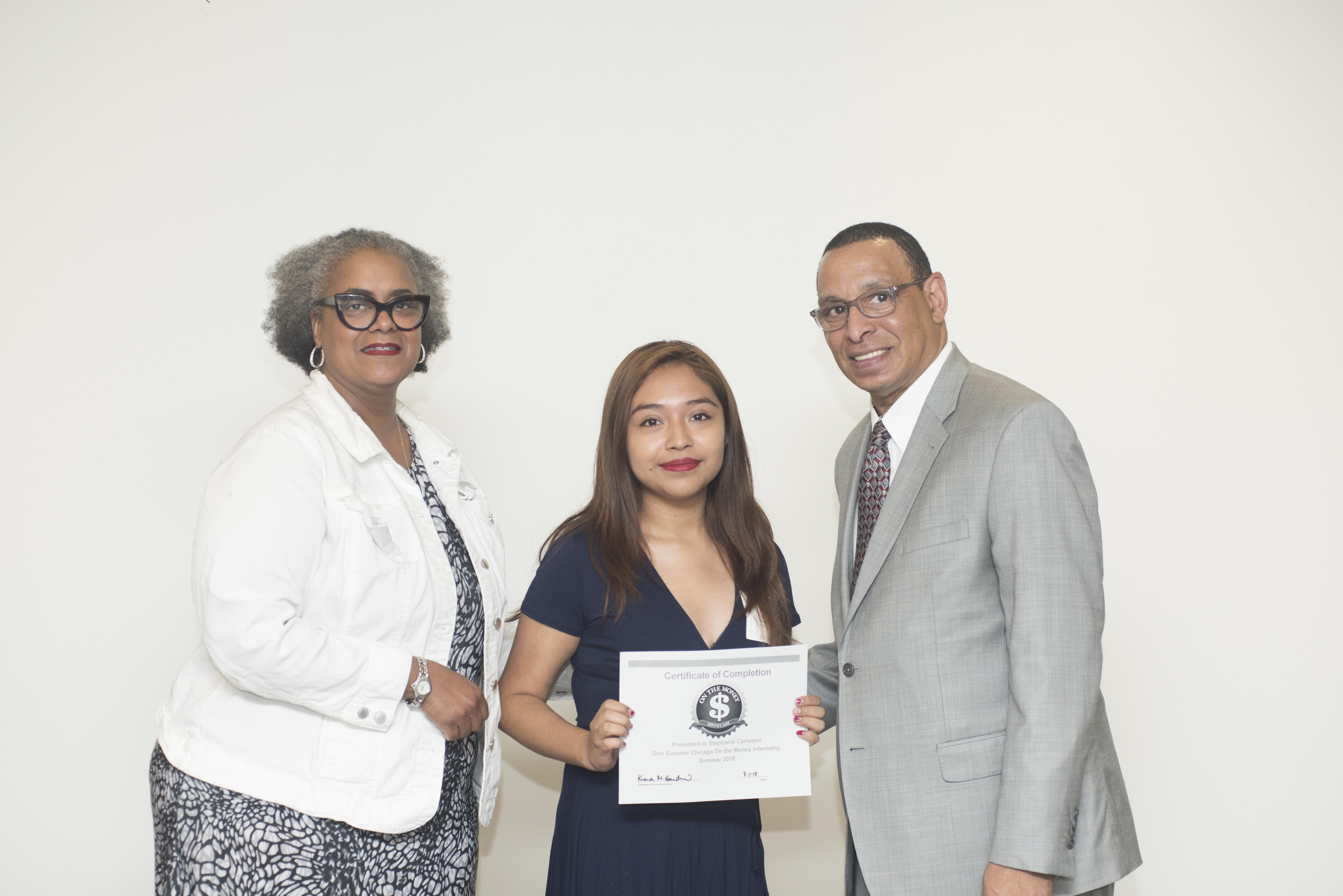 Certificate Stephanie
