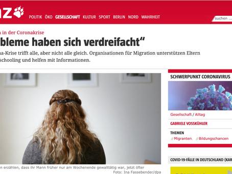 Neue Artikel über die AG Frauen in Trennung in der taz