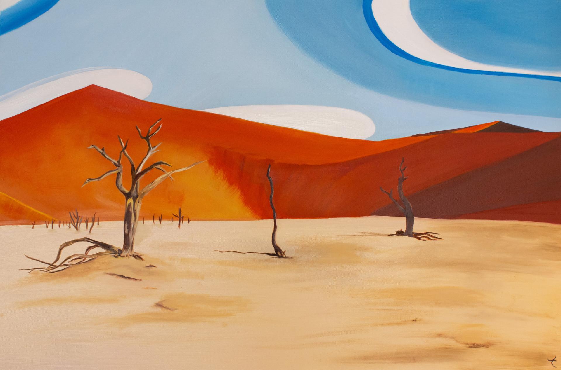 Narobi Trees Surreal