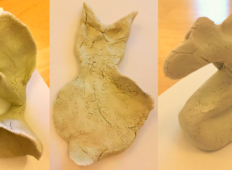 Working with clay, talking with your heart