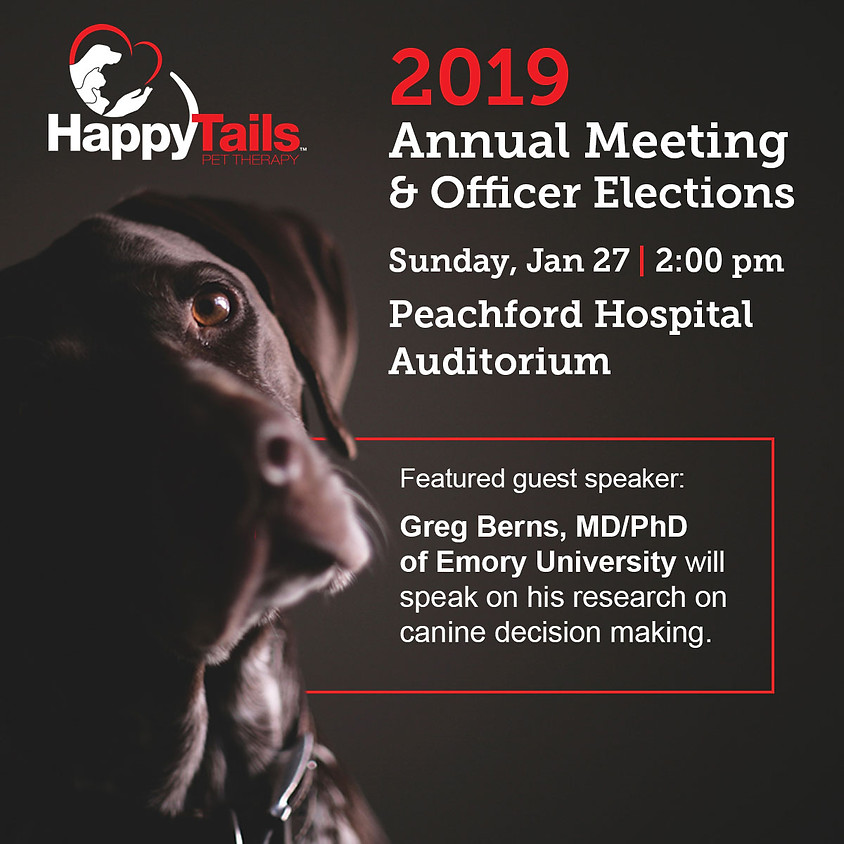 2019 Annual Meeting & Officer Elections (Members Only)