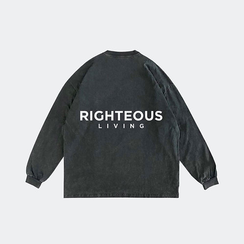 RIGHTEOUS LIVING VINTAGE LONG SLEEVE