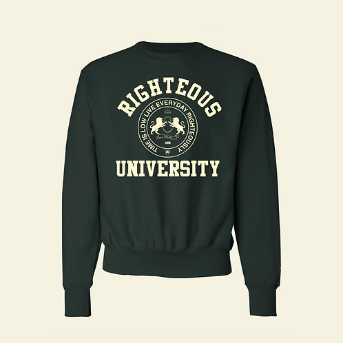 Righteous University Crewneck