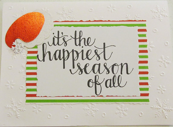 It's the happiest season of all by Artisan Marilyn Parker