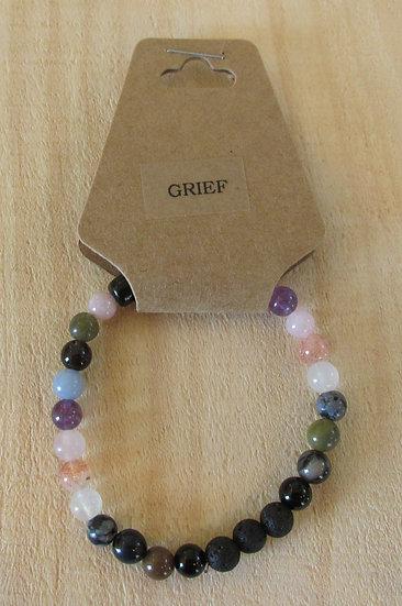 """Ease Grief"" Aromatherapy Stretchy Bracelet"