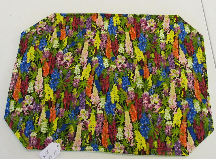 Colorful Lupine Placemats