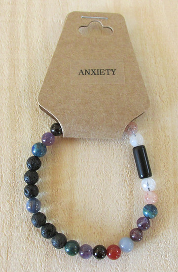 """Ease Anxiety"" Aromatherapy Stretchy Bracelet"
