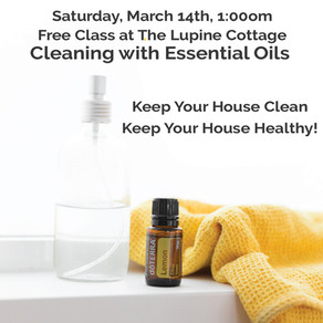 Upcoming Free Essential Oils Classes