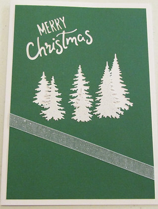Merry Christmas Card by Artisan Marilyn Parker