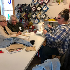 Successful Sewing Classes at The Lupine Cottage