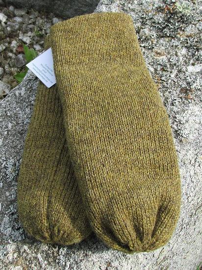Merril Double Knit Wool Handknit Mittens