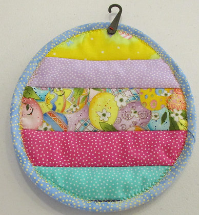 Easter Potholder made by May Bouchard