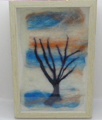 "Felted ""One Tree"" by Artisan Sandi Cirillo"