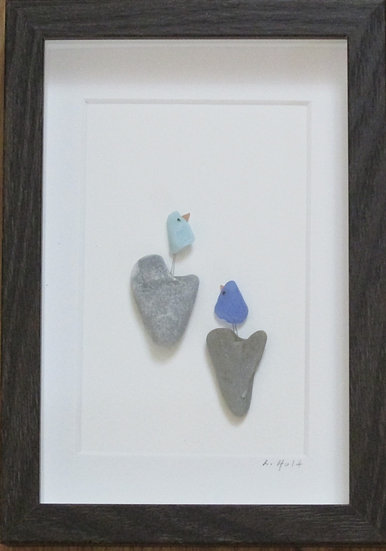 Celebrating Our Love for Each Other,   Framed Wall Hanging
