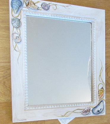 Hand Painted Mirror by Artisan Helen Messemer