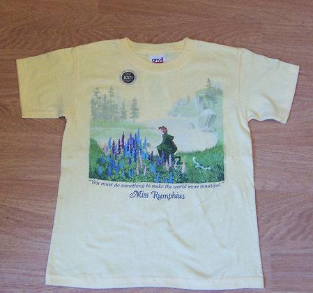 Miss Rumphius, Women's T-shirt by Artisan Liberty Graphics