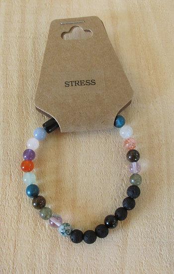 """""""Ease Stress"""" Aromatherapy Stretchy Bracelet"""