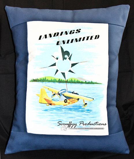 Seabee Landing Pillow