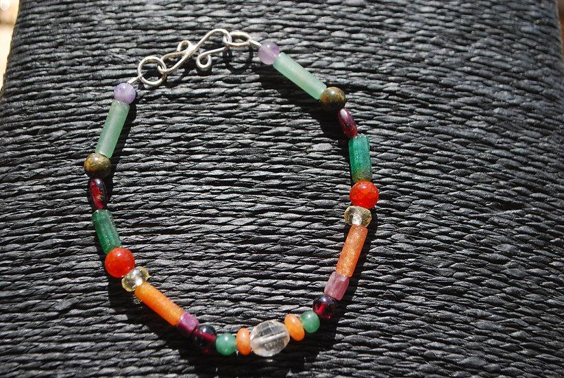 Aries Multi Stone Bracelet