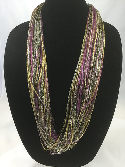 Plum Shimmer Necklace