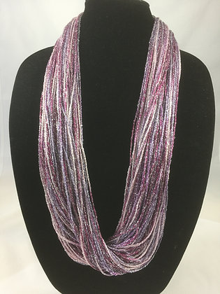 Berry Shimmer Necklace by Artisan Jane Arey