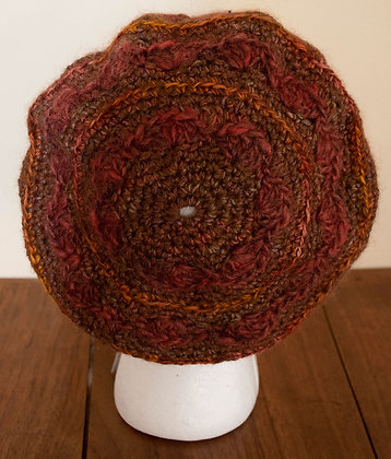 Fall Leaves, Beret by Artisan Ann Kennedy