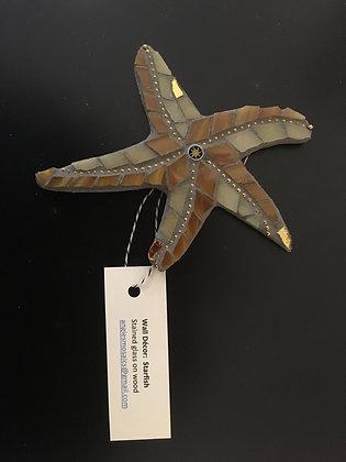 Wall Hanging Starfish  by Angela Maniak