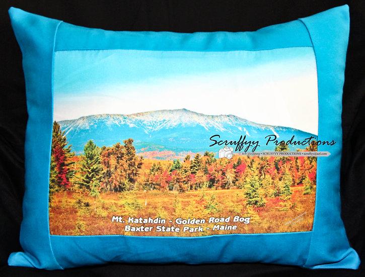 Mt Katahdin Bog Pillow