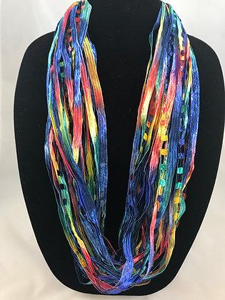 Rio Ribbon Necklace by Artisan Jane Arey
