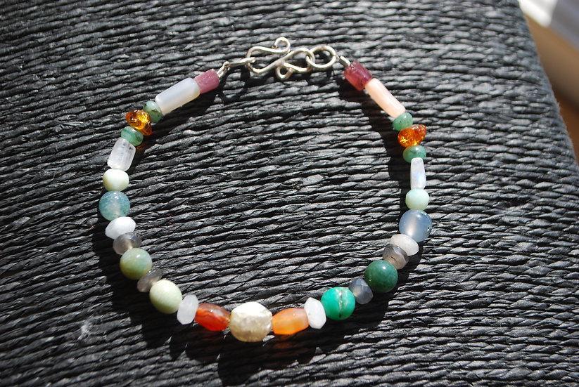 Cancer Multi Stone Bracelet